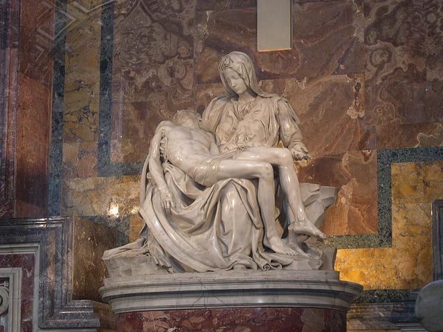socha ve Vatikánu