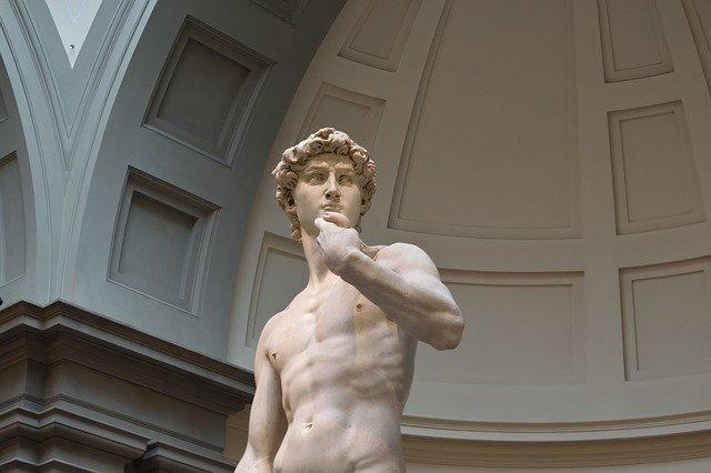 socha Davida