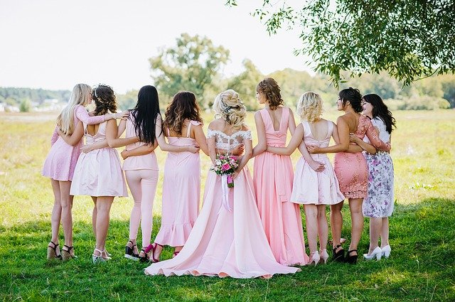 svatební party