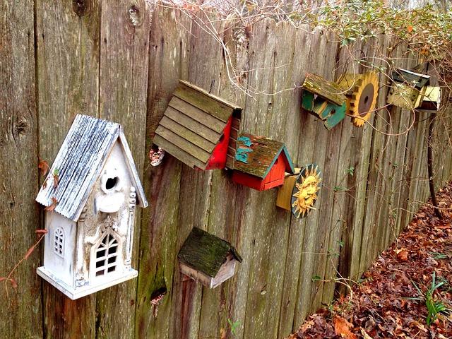 Domčeky pre záhradných návštevníkov