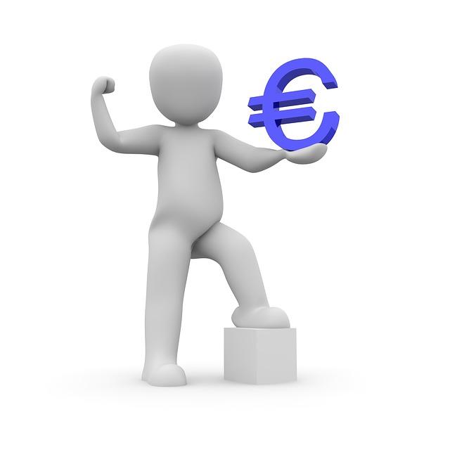 euro v rukách