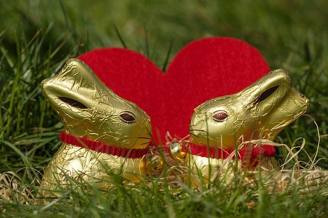čokoládový králíček